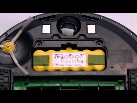iRobot Roomba Vacumming Robot 700 Series - How To Remove Battery