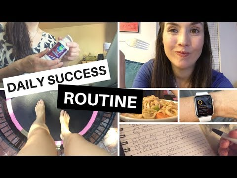 My Daily Formula for Success // Boss Babe Routine