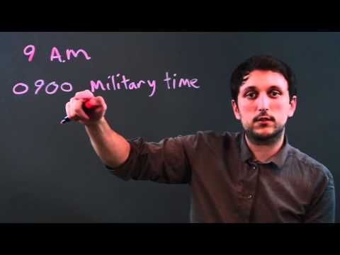 How to Convert Minutes to Army Time