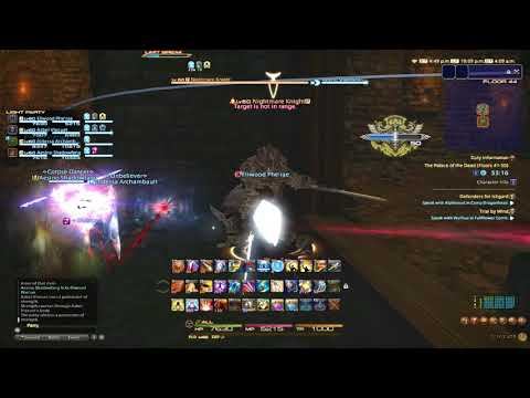 Final Fantasy XIV: Rey and Friends go through Palace of the Dead Part 5