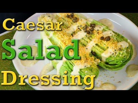 Superfood Caesar Salad: Organic Vegan Recipe