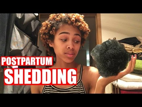 Postpartum Shedding | How to Stop Your Hair From Shedding / Falling Out After Giving Birth