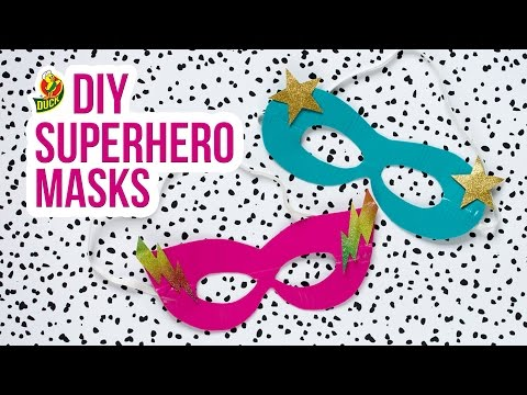 How to Craft a Duck Tape® Superhero Mask