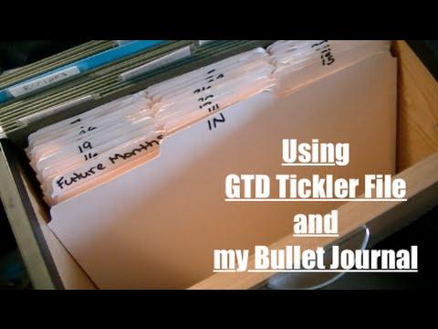 GTD / Bullet Journal Routine