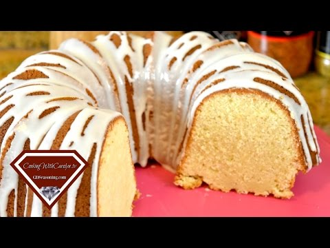 Southern Seven Flavor Pound Cake Recipe & Southern Seven Flavor CREAM CHEESE Pound Cake |2 Recipes