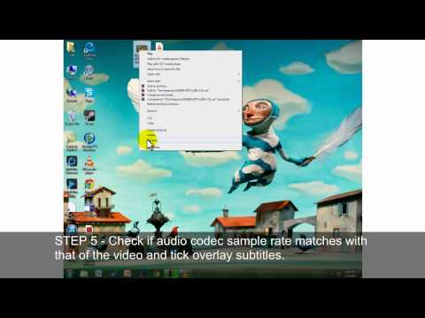 How To - Add/Hardcode Subtitles (VLC)