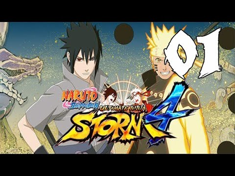 Naruto Ultimate Ninja Storm 4 - Walkthrough Part 1: The Deathmatch of Creation