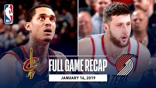 Download Full Game Recap: Cavaliers vs Trail Blazers | Jusuf Nurkic Records His First Career Triple-Double Video