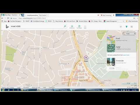 Bing Map Area Measuring 2017