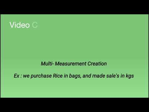 Multi- Measurement (Compound) Creation in Tally(Telugu)