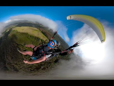 GoPro Fusion: Paragliding Maui