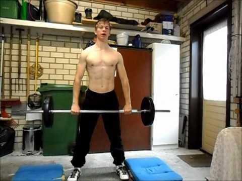 Olympic weightlifting: Clean & Press