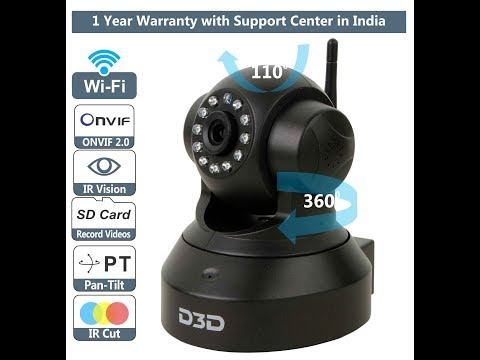How to Install D3D Wi- Fi IP Camera Model D8801