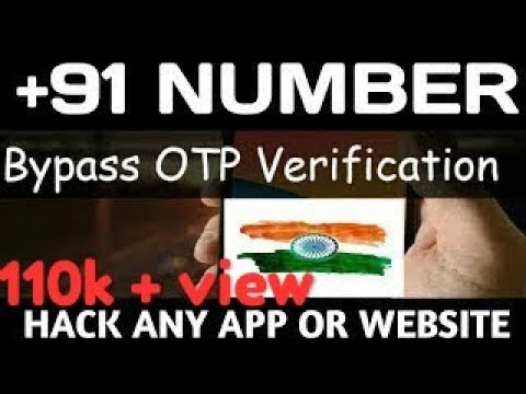 Kaise kisi bhi  OTP(Hack) verification ko bye pass kare??? Like facebook,whatsapp etc.