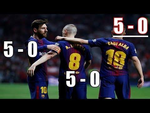 Barcelona vs Sevilla 5-0 Full Goals FINAL Highlights 21/04/2018 -  barcelona vs sevilla copa del rey