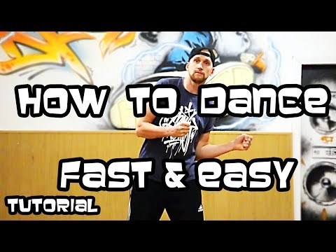 How to dance fast and easy tutorial (lesson 4) arms moves /cross, the wop/
