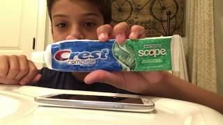 Does Toothpaste actually remove cracks on a phone?