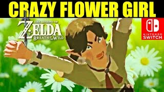 WARNING: Do NOT Step On Her Flowers! - Zelda Breath of the Wild; Nintendo Switch; Livestream MOHment
