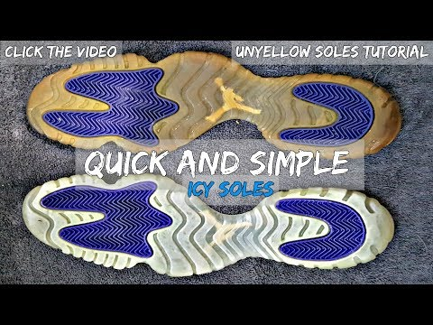 How To Restore Icy Soles Quick & Simple | Sneaker Reviver