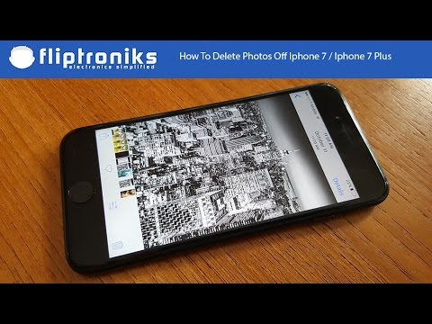 How To Delete Photos Off Iphone 7 / Iphone 7 Plus - Fliptroniks.com