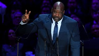 Shaquille O'Neal Speaks at A Celebration of Life for Kobe and Gianna Bryant