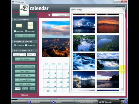 Free Printable Calendars - Create a Printable Calendar in Minutes