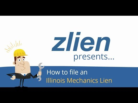 How To File An Illinois Mechanics Lien