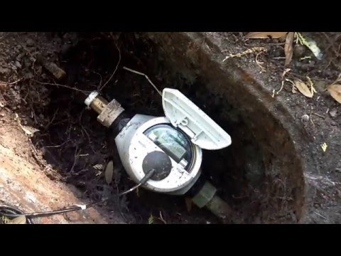 Faulty or broken OUC water meter