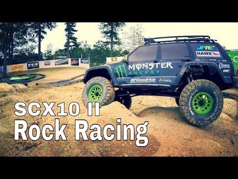 Axial SCX10 II Goes Rock Racing - JPRC Monster Energy Jeep Cherokee