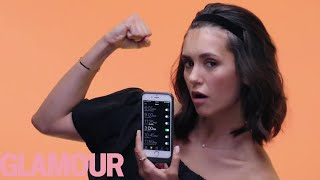 Nina Dobrev Shows Us the Last Thing on Her Phone   Glamour