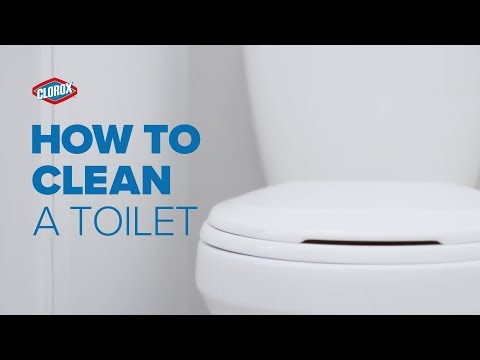 Clorox® How-To : Clean a Toilet