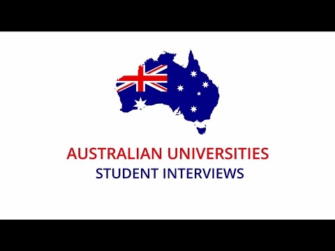 AUSTRALIAN UNIVERSITIES STUDENT INTERVIEWS