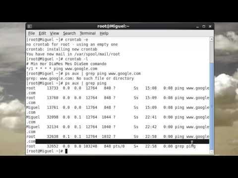 How to configure Cron / Crontab / Crond on CentOS 6