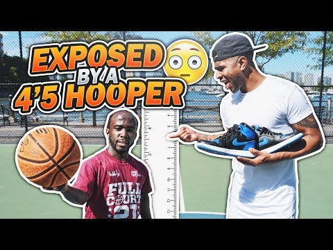 GOT EXPOSED BY A 4'5 HOOPER!!! 😳😱 1 V 1 AGAINST MANI LOVE!! LOSER GETS EXTREME PUNISHMENT!!!