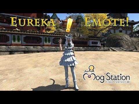 FFXIV: Eureka Emote On Mogstation!