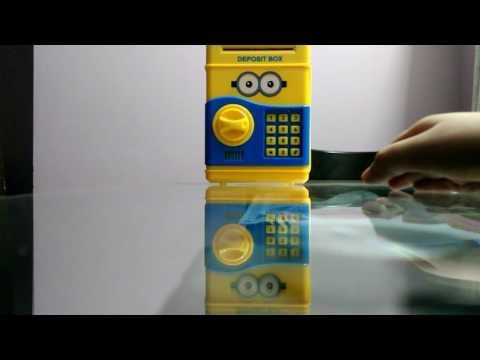 Minion Electronic Deposit Box
