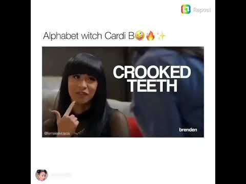 learn your ABC's with cardi b
