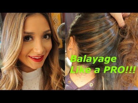 How to Balayage like a pro step by step