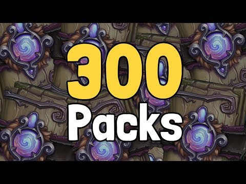 Opening 300 Witchwood Packs - Hearthstone