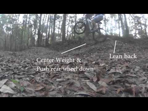 Learning to Wheelie Pumptrack WITH TUTORIAL IN 30 SECONDS