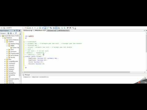 4   SQL server Contraint Primary key Not null