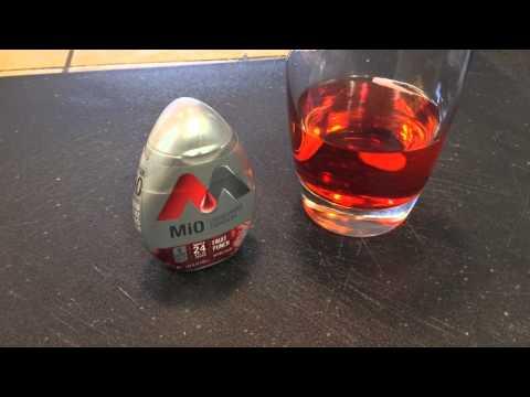 MiO Liquid Water Enhancer Review