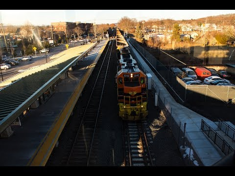 Railfanning at the New Wallingford, CT Station (feat. Amtrak 184)!!!