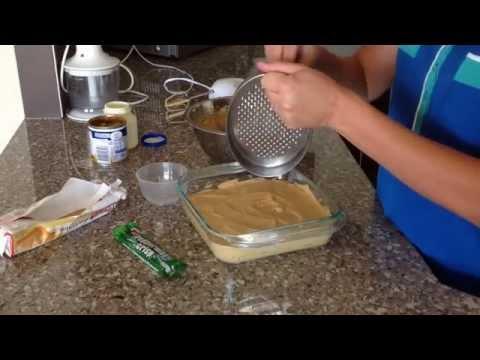 How To Make A Peppermint Caramel Dessert by QueenSheen Kitchen