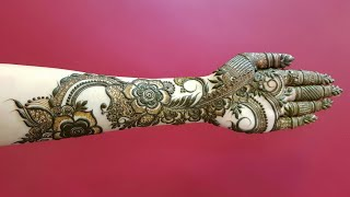 Full Hand Dubai Henna Design For Eid 17 Heena Vahid