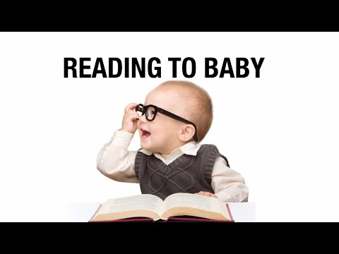 Benefits of reading to babies.