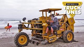 Kids Truck Video - Beach Cleaner