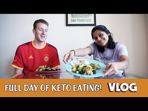 Full Day of Keto Eating with Intermittent Fasting!