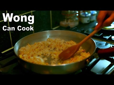 How to cook Egg Fried Rice - Wong Can Cook