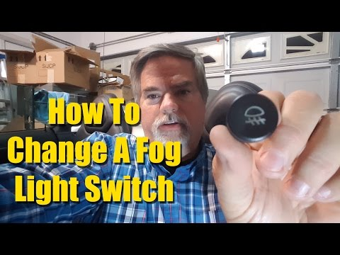 Changing a Fog Light Switch - Saturn Sky Pontiac Solstice